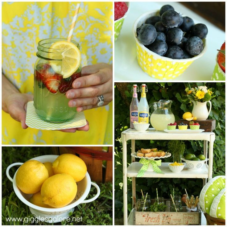 Lemonade Bar by Giggles Galore on I Heart Nap Time
