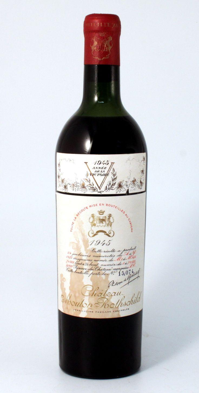 Mouton Rothschild 1945 - Retrouvez l'histoire de cette légende sur SoDivin.com