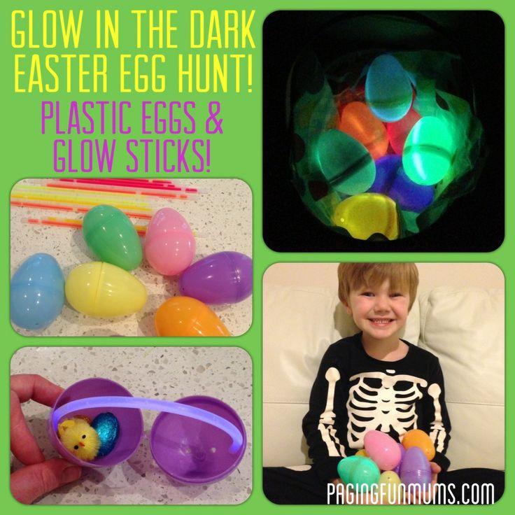 Glow in the dark Easter Egg Hunt! Jenni x