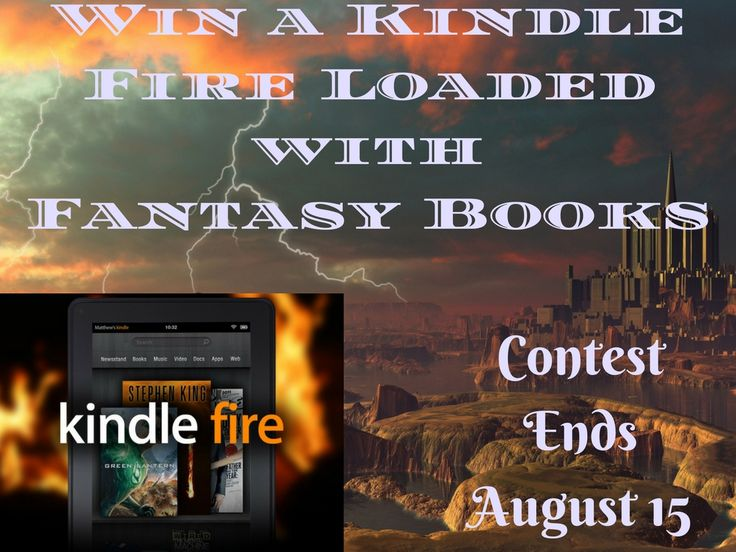 Kindle Loaded with Fantasy Books  http://jasonpaulricebooks.com/fantasy-book-loaded-kindle-giveaway/?lucky=15868