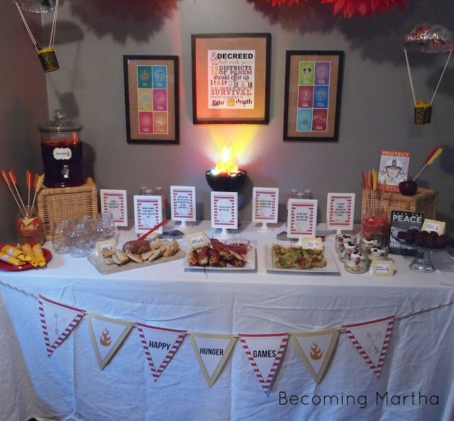 Hunger Games DVD Release Party | Becoming Martha