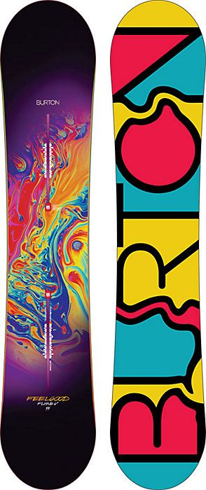Burton Feelgood Flying V Snowboard - Women's #ChristySports