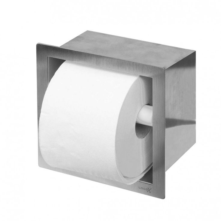 Toiletrolhouder LoooX Closed CL4 | Kwaliteit, schoonheid en hygiënisch