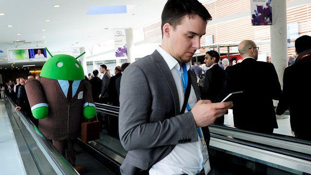 Le robot-mascotte vert d'Android, qui est également son logo, s'appelle Bugdroid.