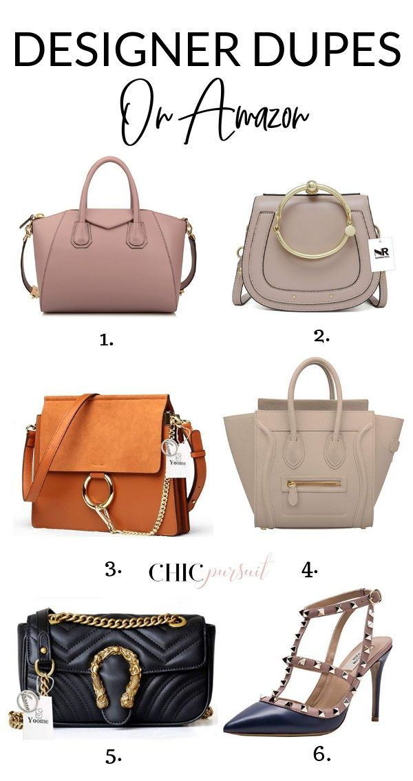 The Best Designer Dupes On Amazon For Cheap Including Designer Handbag Dupes Designer Shoe Dupe More Including Chloe Bag Fashion Tote Bag Women Handbags