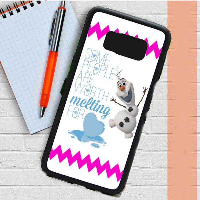Olaf Disney Frozen Quote Samsung Galaxy S8 Plus Case Casefreed