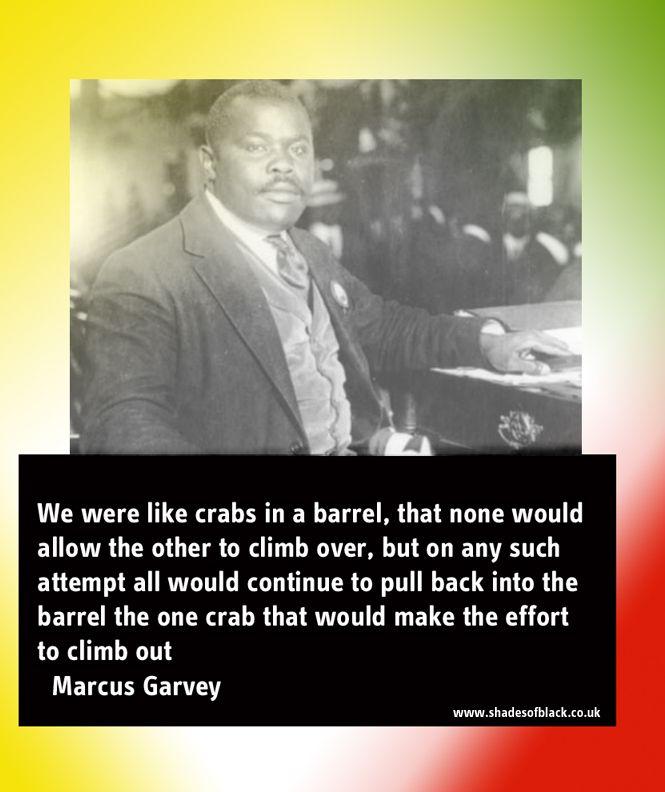Marcus Garvey - Crabs in a barrel