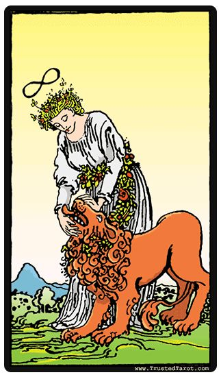 41 Best Images About Strength / Fortitude (Tarot Card) On