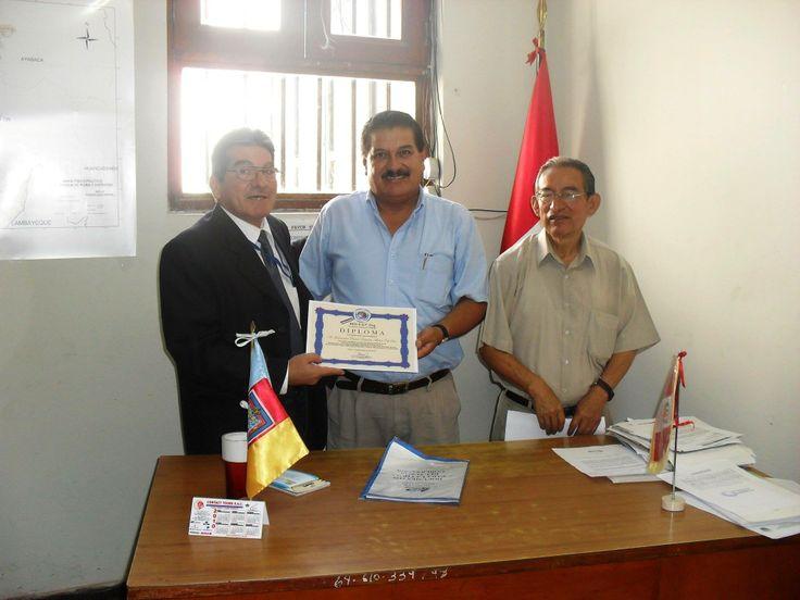 mon amis  Raúl Enrique Bibiano  et  les collegues du pacifique