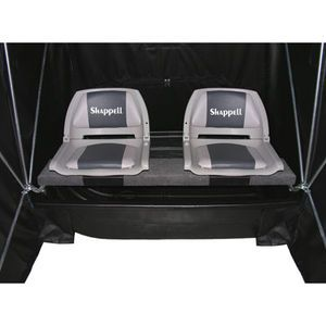 Shappell 2 man flip shelter w swivel seating mills fleet for Fleet farm ice fishing
