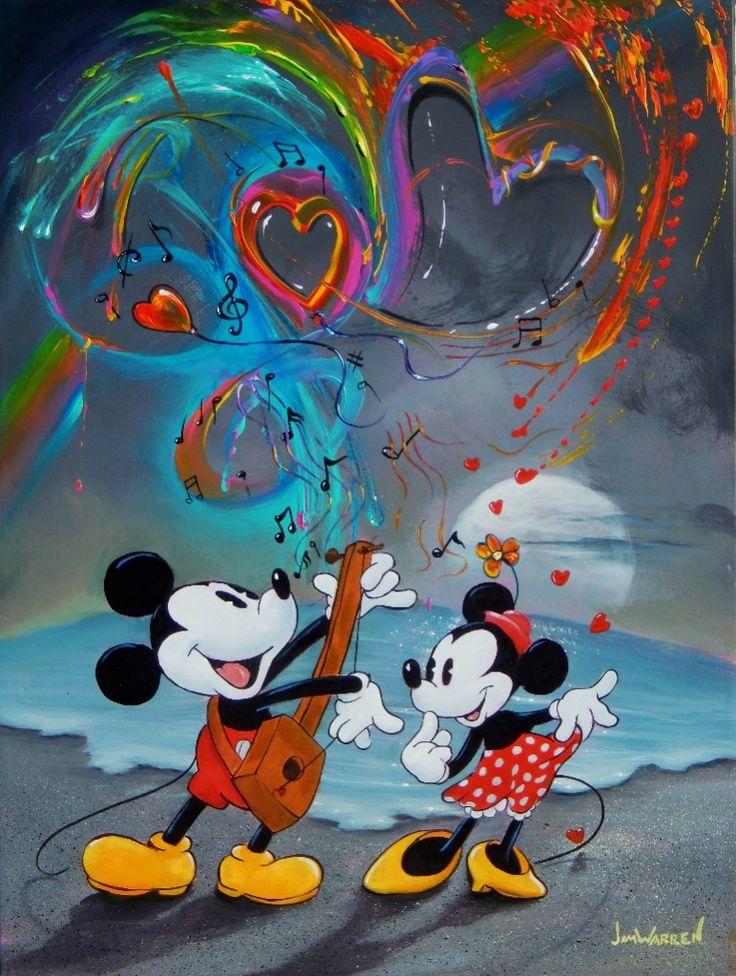 Mickey's Love Song by Jim Warren