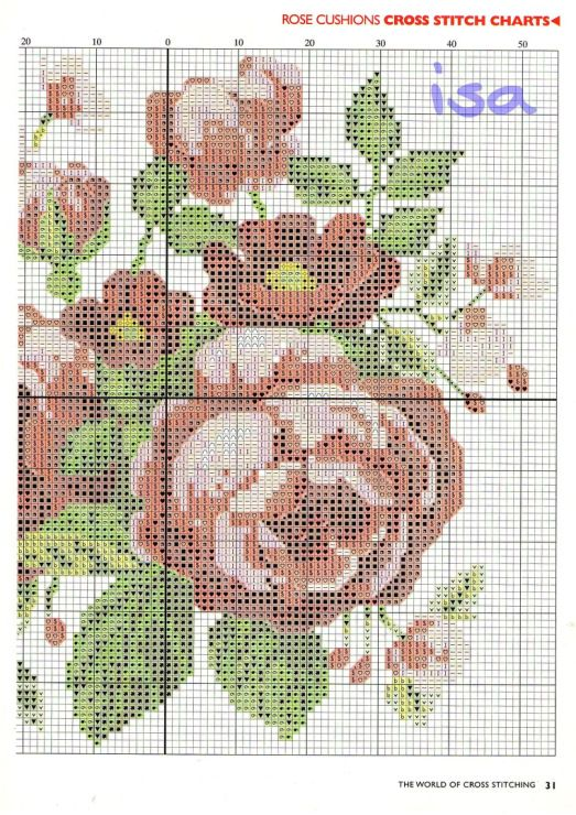 Gallery.ru / Фото #17 - The world of cross stitching 034 июль 2000 - WhiteAngel