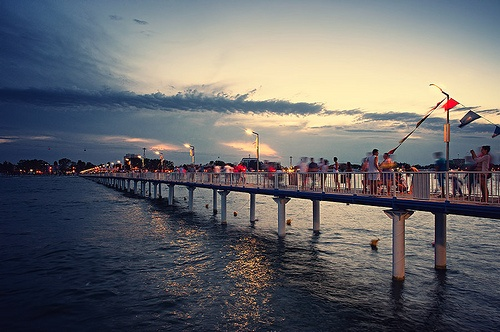 Sunset - Mamaia beach, Romania