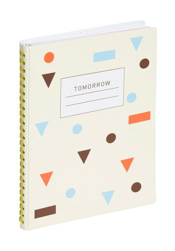 """Waiting for Tomorrow Day Planner: this spiral-bound day planner from will help you make the most of those musings about the 'morrow by giving you an easy and adorable way to organize appointments, jot down daily goals, or just record some fun doodles. Inscribed with the mantra """"Draw Your Tomorrow"""" on the first page, this sweet little book reminds us that even if your schedule is packed, there's always time in every day to dream!"""