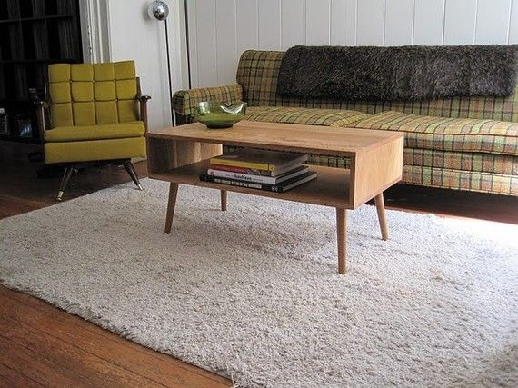 danish modern style coffee table.