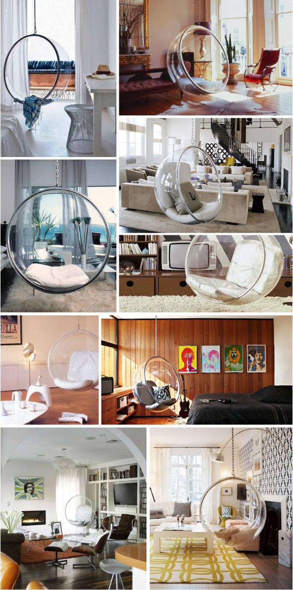 HOMESTORMING: #47. OBJECT. BUBBLE CHAIR by EERO AARNIO