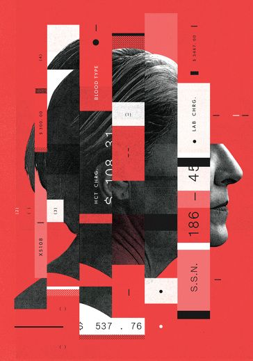 McQuade poster design layout