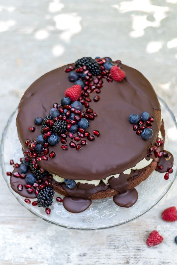 Mini Naked Chocolate Cake Von Oma Angelika Hochzeitstorte