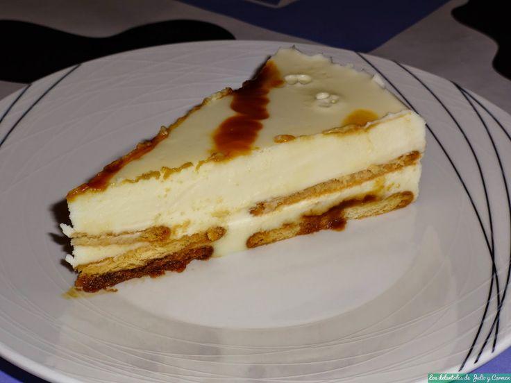 Pastel de chocolate blanco al caramelo | jvfajardo