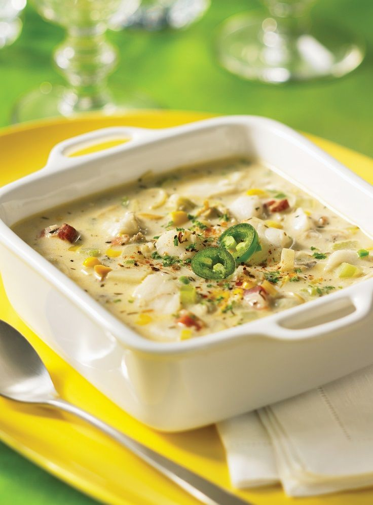 Top 10 best fish and seafood recipes love this soups for Best fish chowder recipe