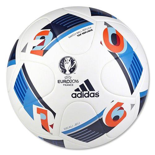 adidas Euro 2016 Top Replique Ball White