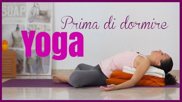 Yoga - Posizioni per la sera prima di dormire