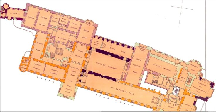 Windsor castle main floor windsor castle for Windsor homes floor plans