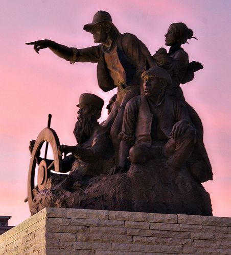 The Way West Statue - downtown St. Joseph by StJoMo, via Flickr