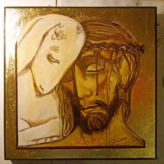 Ikona Chrystus Dobry Pasterz