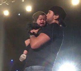 Luke Bryan Fails to Impress Baby Boy at Recent Concert