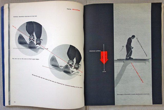 French Method: How to Ski - Emile Allais' Technic - 8 by Michael Stoll, via Flickr