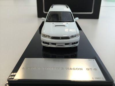 日本自動車デザインコーナー 「Japanese Car Design Corner」: Subaru Legacy Touring Wagon GT-B model by WiT's