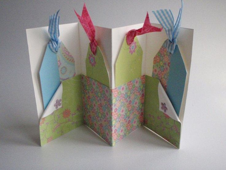 diy card with pockets