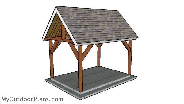 10x14 Pavilion Plans Myoutdoorplans Free Woodworking Plans And Projects Diy Shed Wooden Playhouse Pergola Bbq Pavilion Plans Outdoor Pavilion Diy Shed