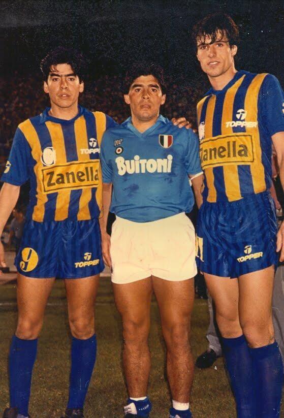 1987. El día que Diego erró un penal contra Central. Nápoli 0 - 1 Central.