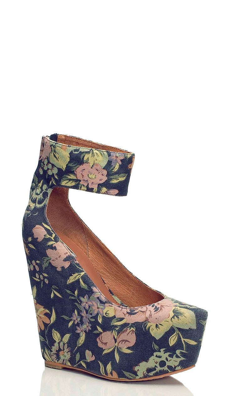 best 25 floral wedges ideas on wedge heels