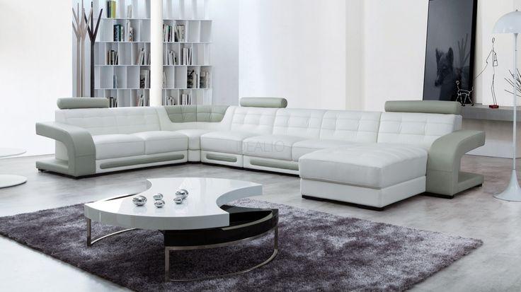 Casanova Leather Modular Lounge Option B - Lounge Life