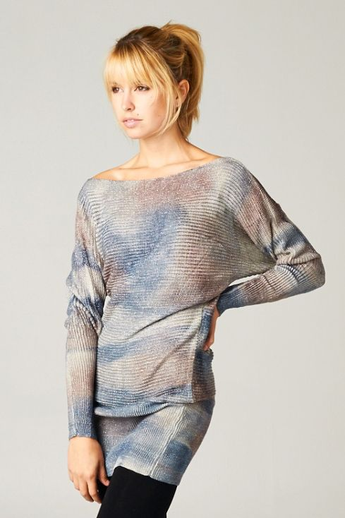 Joni Pullover in Watercolor on Emma Stine Limited
