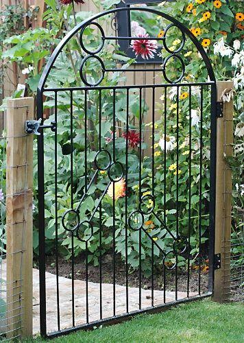 Image Detail For  Garden Metal Gate Garden Metal Gate