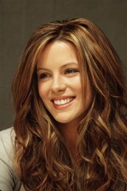 Kate Beckinsale. She is so beautiful and makes the Underworld movies kickass!