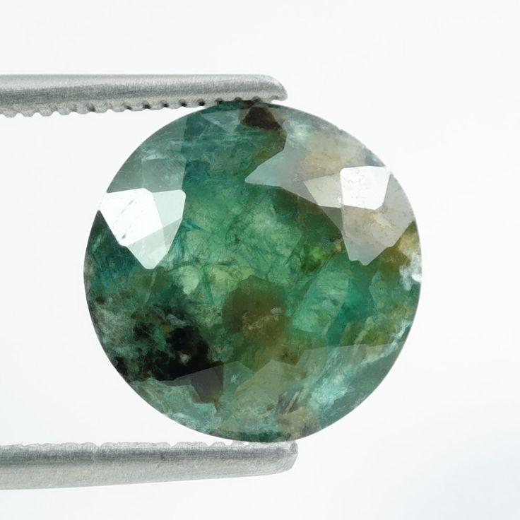 5.15 Ct Extraordinary Round Shape 11mm Natural Greenish Blue Grandidierite