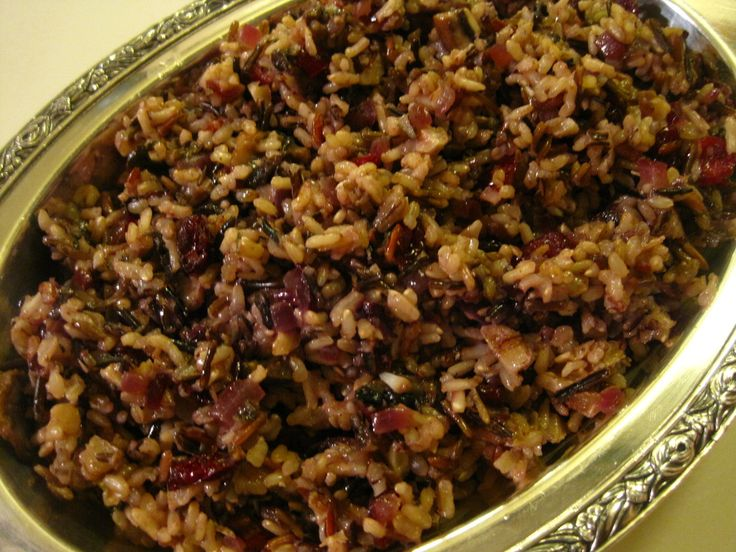 wild rice pilaf cranberries and walnuts | Catering Gone Wild | Pinter ...