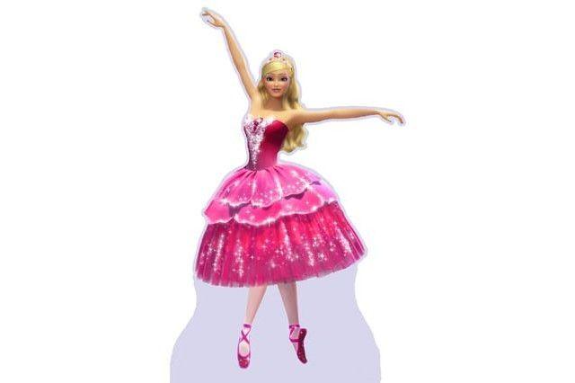 Display de Mesa e Chão Barbie e as Sapatilhas Mágicas