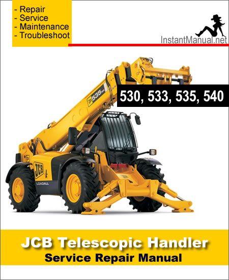 30 best jcb telescopic handler service manual pdf images. Black Bedroom Furniture Sets. Home Design Ideas