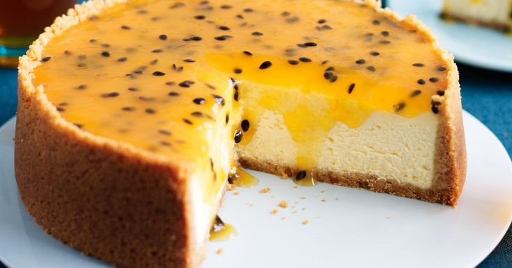 A smooth creamy cheesecake is essential when entertaining cafe style, and this is a classic baked number.