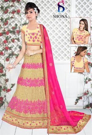 Buy Designer Samyak Pooja-Shona Lehenga