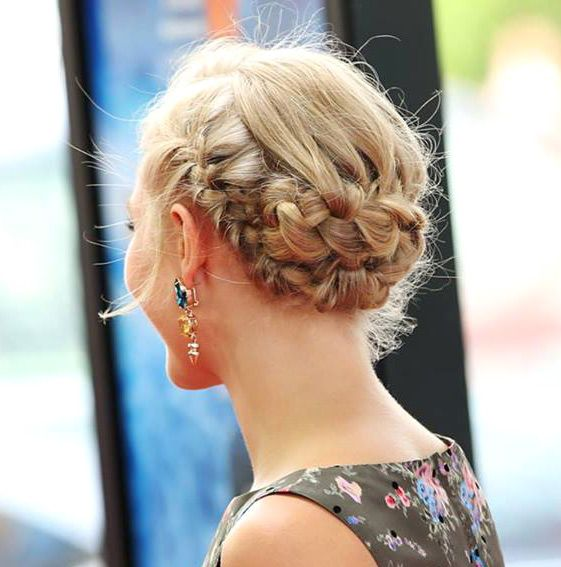 Braided updo #hairstyle #spring2013 #sumer2013 #hair #trend