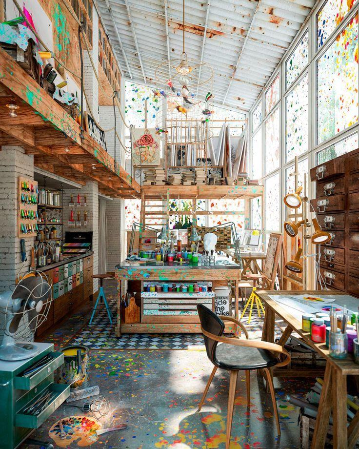 Lassen Sie sich von den schönsten Studios für Ihr Home Office inspirieren