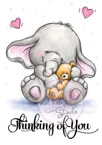 """Wild Rose Studio Bella with Teddy - Click Image to Close"""