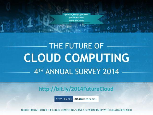 2014 Future of Cloud Computing - 4th Annual Survey Results by Michael J Skok via slideshare